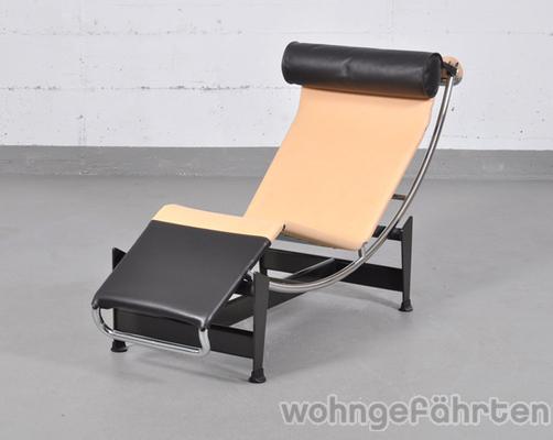 cassina lc4 cp liege limited edition design le corbusier ausstellungsst ck. Black Bedroom Furniture Sets. Home Design Ideas