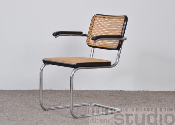 thonet armlehnstuhl s 64 design marcel breuer ebay. Black Bedroom Furniture Sets. Home Design Ideas